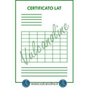 Certificato Accredia Fonometro