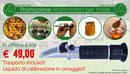 Promozione rifrattometri e liquidi di calibrazione