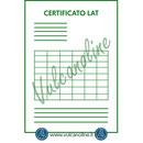 Certificato primario Accredia blocchetti pianparalleli
