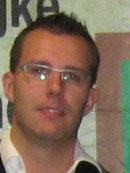 Chris Ververs, districtkampioen libre 4e klas