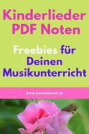 Kinderlieder PDF Noten kostenlos