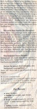 Bild: Seeligstadt Chronik 2013