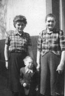 Christa, Falk und Lina Schkade