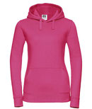 Textildruck Ladies Authentic Hooded Sweat RUSSELL
