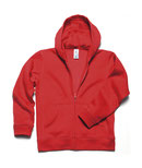 Textildruck Kids' Hooded Full Zip