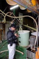 米洗いデモンストレーション