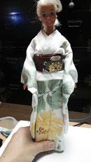 バービー着物、kimono Barbie