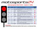 Moto3 - Rote Ampel