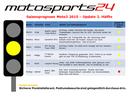 Moto3 - Gelbe Ampel
