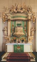 Altar der Kirche Wehrsdorf