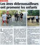 Article de l'Indépendant du 14 août 2013