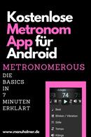 Metronomerous Metronom App Erklärung YouTube