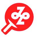 港区卓球連盟ロゴマーク