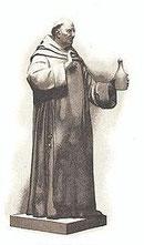Dom Pérignon (Statue bei  Moët et Chandon)