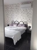 Schlafzimmer in der Wohnung Elsa 1
