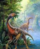 Bild eines Beipiaosaurus