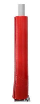 sonnenschirme von may können mit einem weichen Prallschutz für Rohre versehen werden.