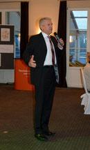 Oberbürgermeister Gerd Maisch Vaihingen/Enz begleitete die Veranstaltung  - Foto Nippenburg Golfclub GmbH