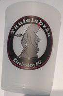 Kunstoff-Trinkbecher mit Logo