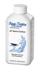 AT Nano-Carbon gibt wichtiges Calcium dem Wasser zu, welches Garnelen und Krebse für eine Pro- blemlose Häutung benötigen.