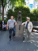Hachiko Statue an der Shibuya Station in Tokio