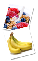 Achten Sie auf Ballaststoffe und Proteine zum Frühstück