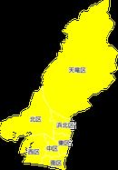 ポスティング浜松市(静岡県)配布部数表