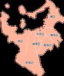 ポスティング福岡市(福岡県)配布部数表