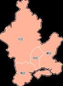 ポスティング岡山市(岡山県)配布部数表