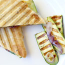 homemade grilled zucchini panini - by homemade nutrition