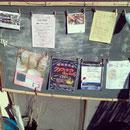 藤野駅前の自然食品のお店「しみづ」でポスター飾ってもらってます♪