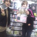 HMV立川店 POPとポスターにメッセージ書きました♪
