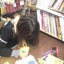 ヴィレッジヴァンガード下北沢店 先着購入10名様にyachiko直筆メッセージカード書きました♪