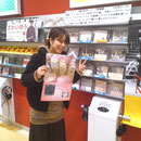 タワーレコード錦糸町店 ポスターも飾ってもらってます♪
