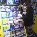 タワーレコード渋谷店 試聴機あります♪