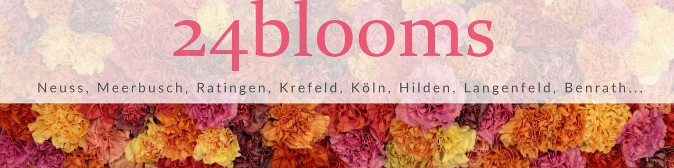 Blumenversand Düsseldorf - Blumen in Düsseldorf verschicken 24blooms