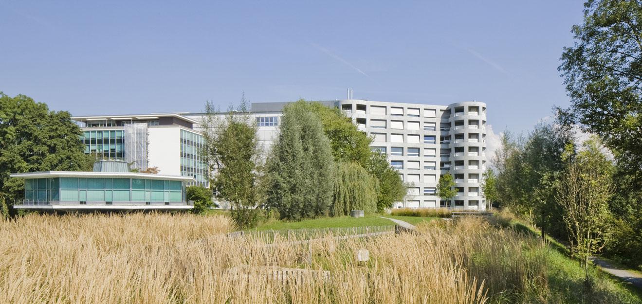 Überbauung Zellweger Park Uster, Herzog und de Meuron Architekturfotografie