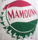Mamouna bottle cap in Pepsi design on a Bryan Ferry T Shirt