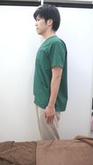 肩こりのストレッチ胸-①