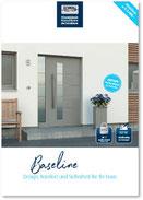 Alu-Haustür Baseline-Sortiment
