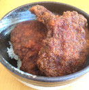 イノシシソースかつ丼