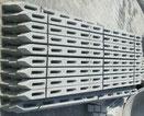 Pali per recinzioni in cemento