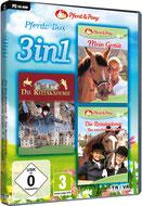 3in1 Pferde-Box: Mein Gestüt + Die Reitakademie + Die Reitakademie – Das entscheidende Turnier - Press Info