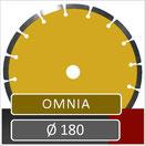 slijpschijf omnia diameter 180 universeel voor haakse slijper
