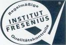 """Nos gels à boire sont également certifiés """"Très bons"""" et de Qualité supérieur par SGS Institut fresenius."""