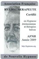 Accréditation Nouvelle Hypnose