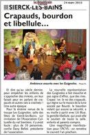 Les Guignolos ont ravi, une fois de plus, le public de Sierck-lès-Bains