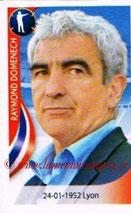 N° 057 - Raymond DOMENECH (1981-82, PSG > 2010, Entraîneur France)