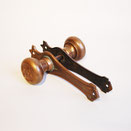 ath-103 antique hardware vintage lever steel brass rust アンティーク 金物 ビンテージ レバー スチール 真鍮 錆 american アメリカン
