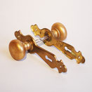 ath-057-1 antique hardware vintage lever steel brass rust アンティーク 金物 ビンテージ レバー スチール 真鍮 錆 american アメリカン